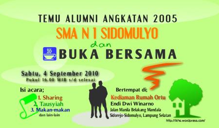silaturahim alumni sma 1 sidomulyo